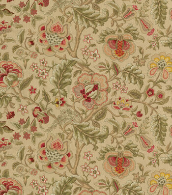 """Waverly Upholstery Fabric 54""""-Imperial Dress Gold"""
