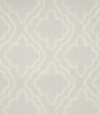 "Hudson 43 Lightweight Decor Fabric 52""-Chaucer White on White"