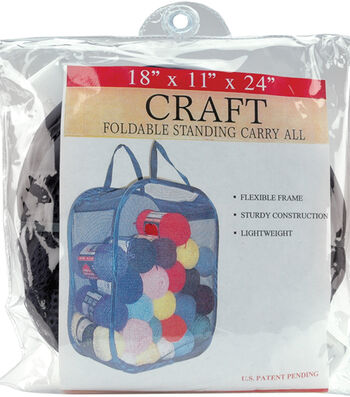 "Foldable Standing Carry All 18""X11""X24""-Black"