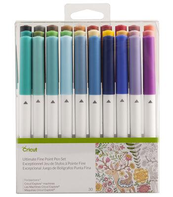 Cricut® 30 Pack Ultimate Fine Point Pen Set