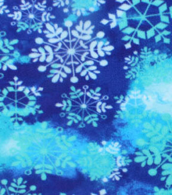 "Anti-Pill Fleece Fabric 61""-Snowflake White"