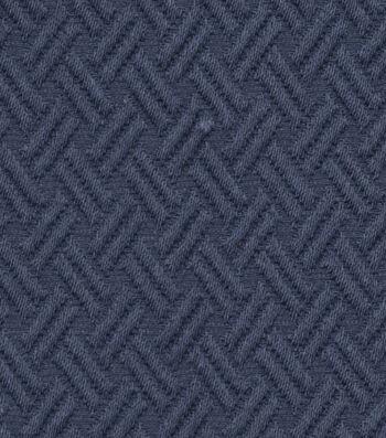 """Jaclyn Smith Upholstery Fabric 54""""-Lane /Indigo"""