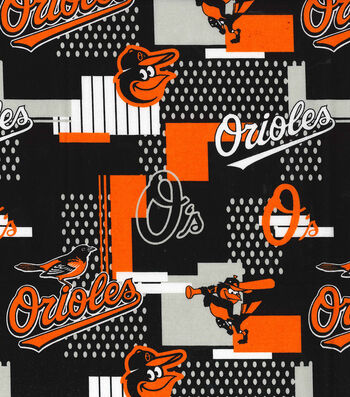 Baltimore Orioles Cotton Fabric 58''-Patch