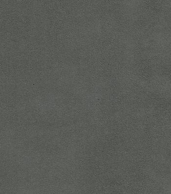 "Signature Series Multi-Purpose Faux Suede Decor Fabric 54""-Dark Gray"
