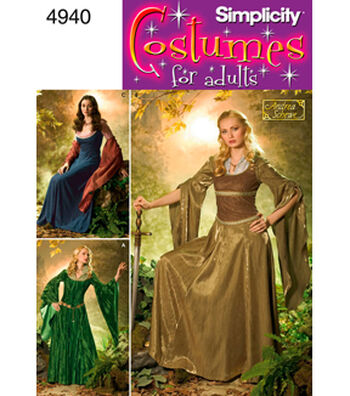 Simplicity Pattern 4940-Misses Costumes