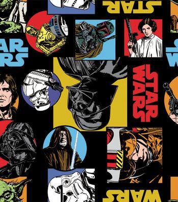 """Star Wars™ Fleece Fabric 58""""-Cartoon Characters"""
