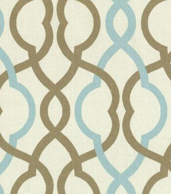 "Waverly Upholstery Fabric 55""-Make Waves Latte"