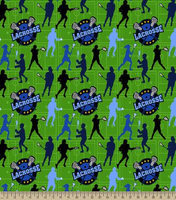 Lacrosse Print Fabric