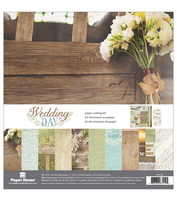 Paper House® Paper Crafting Kit-Wedding Day
