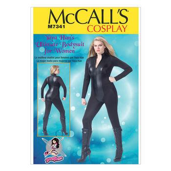 McCall's Pattern M7341-Women's Zippered Bodysuit by Yaya Han