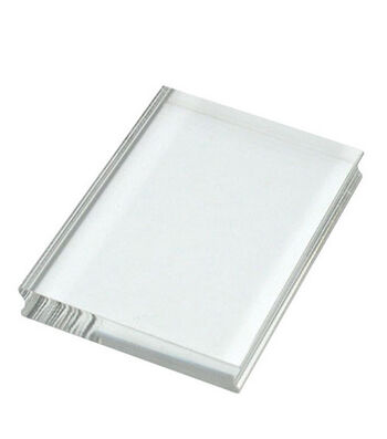 """Perfectly Clear 4""""x3"""" Stamp Block-Medium Rectangle"""