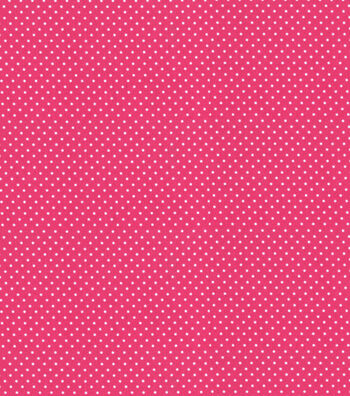 "Babyville Boutique 64"" Sassy Girl Fabric Dots Pink White"