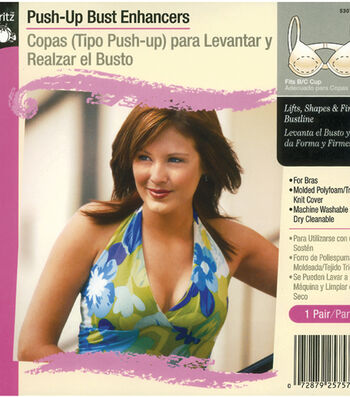 Dritz Push Up Bust Enhancers Fits A/B Cup