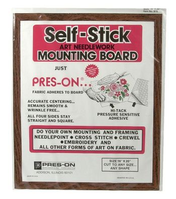 """Pres-On Mounting Board-16""""x20"""""""