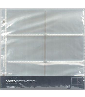 "American Crafts 12""x12"" Photo Protector Pockets-10PK"