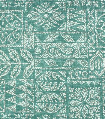 Solarium Outdoor Print Fabric 54''-Patina Danul