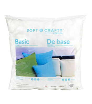 "Soft N Crafty Basic 27"" x 27 "" Pillow"