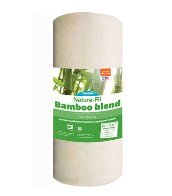 Fairfield® Nature-Fil™ Bamboo Blend Batting 90''x6yds