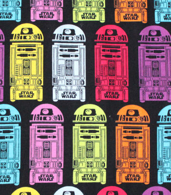 "Star Wars™ Cotton Fabric 58""-R2D2"