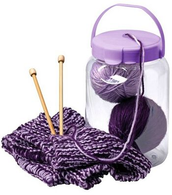 "Snapware Yarn Container Small-8""X5-1/2"""