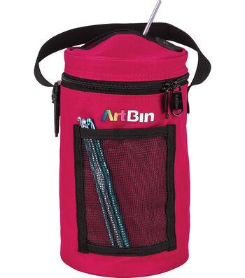 "ArtBin Mini Yarn Drum 5.7""X9.5""-Raspberry"