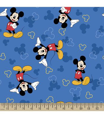 Disney® Mickey Mouse Print Fabric