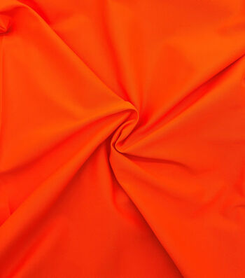 Utility Fabric Safety Fabric Orange