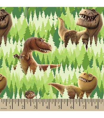 Disney® PIXAR The Good Dinosaur Print Fabric