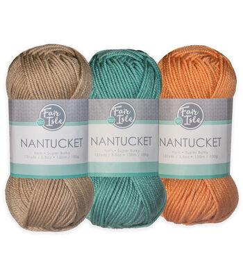 Fair Isle Nantucket Yarn-Solid
