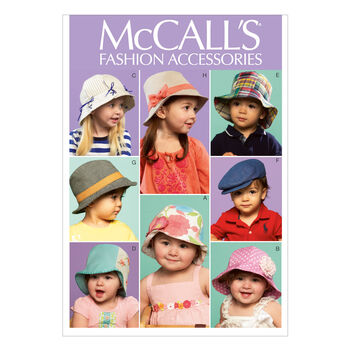 McCall's Toddler Headgear-M6762