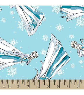Disney® Frozen Print Fabric-Sketched Elsa