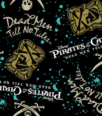 Disney® Pirates Of The Caribbean Fleece Fabric 59''-Dean Man's Curse