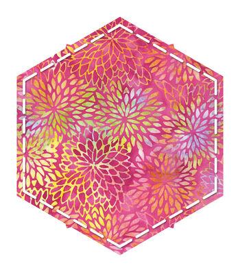 "Go! Fabric Cutting Dies-Hexagon 4-1/4"" Sides"