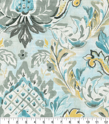 Kelly Ripa Home Upholstery Fabric 54''-Pool Flying Colors