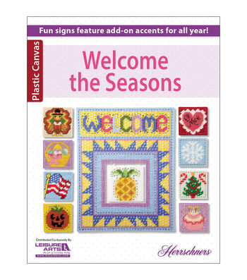 Welcome The Seasons Plastic Canvas Book