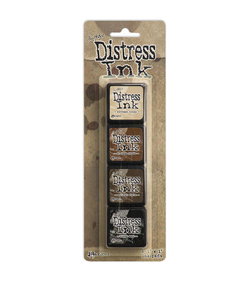 Tim Holtz Distress Mini Ink Kits-Kit 3