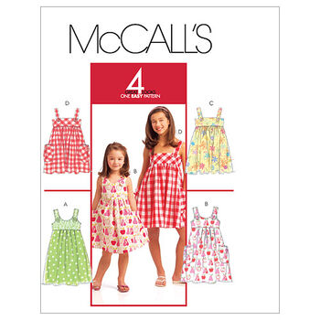 McCall's Girls Dress-M5613