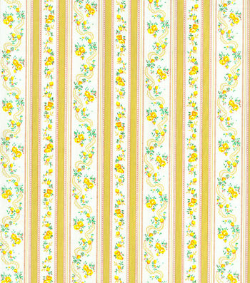 Pillow Ticking Utility Fabric-Dark Yellow