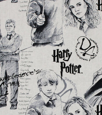 "Harry Potter™ Cotton Fabric 44""-Mystery of Magic"