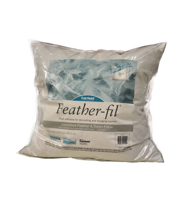 "Fairfield Feather-Fil Feather & Down Pillow 20"" x 20"""