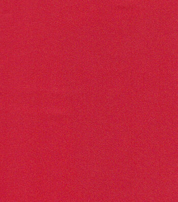 Glitterbug Satin Fabric 45''-Red Solid