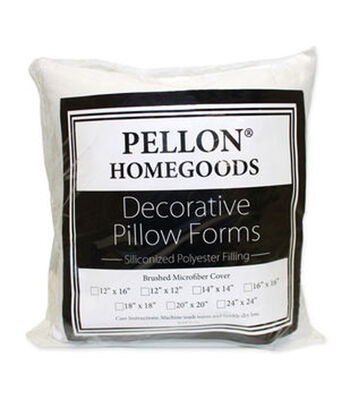"Pellon Decorative 24"" x 24"" Microfiber Pillow Form"