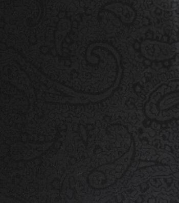 """Silky Jacquard Fabric 54""""-Paisley"""