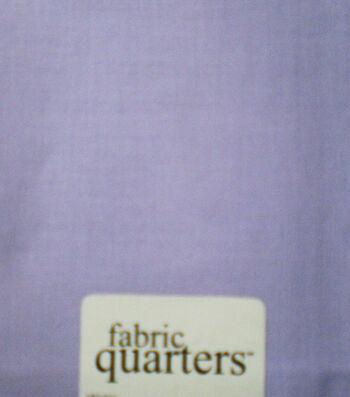 Fabric-Quarters Cotton Fabric-Solids Lavender