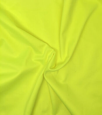 Utility Fabric Safety Fabric Yellow