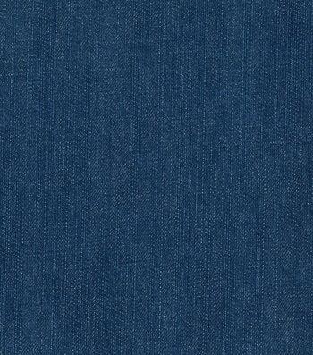 Bottom Weight Denim Fabric 57'' 12 oz.-Blue Texture