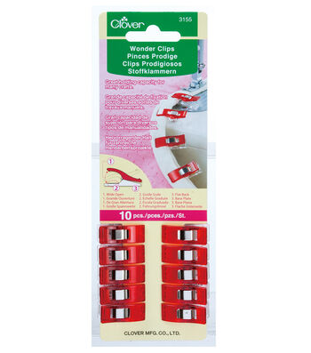 Clover Wonder Clips 10pc
