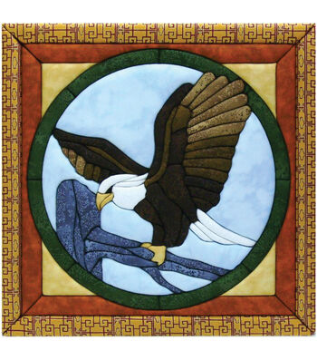 "Eagle Quilt Magic Kit-12""X12"""