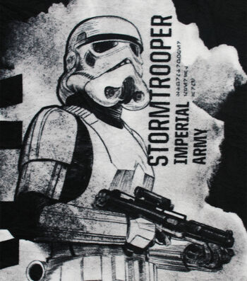 No-Sew Throw Rogue One Throw-Stormtrooper Sketch