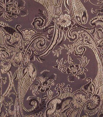 "Cosplay by Yaya Han Brocade Fabric 58""-Metallic Brown"
